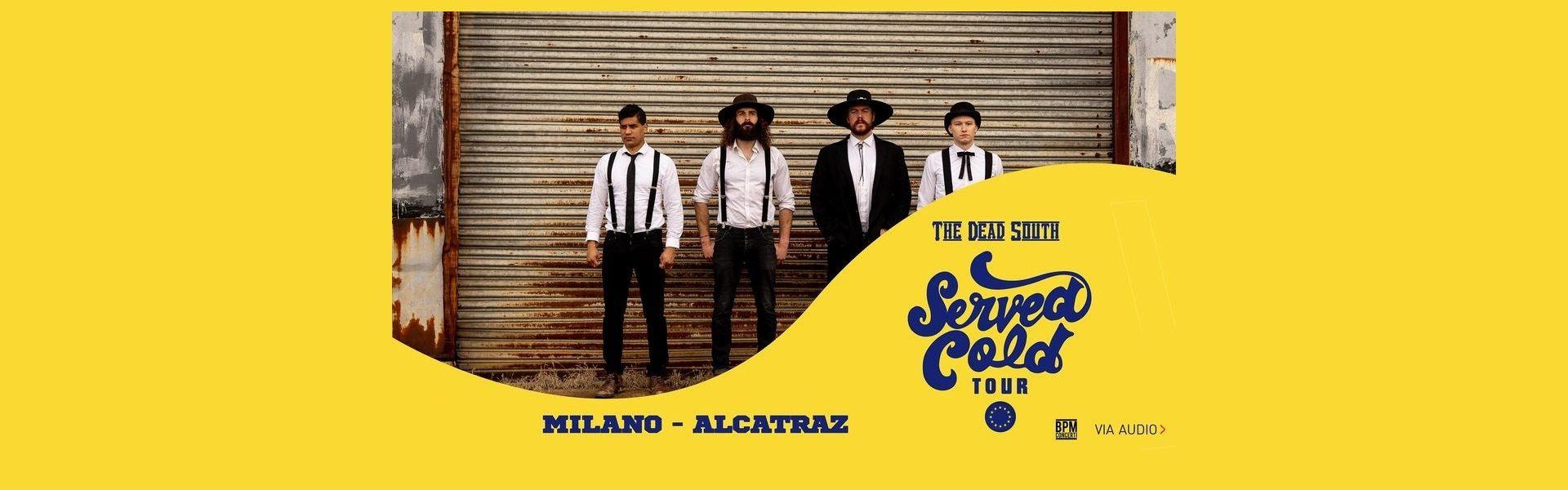 The Dead South concerto Alcatraz Milano 16-04-2022 tickets Biglietti | Mailticket