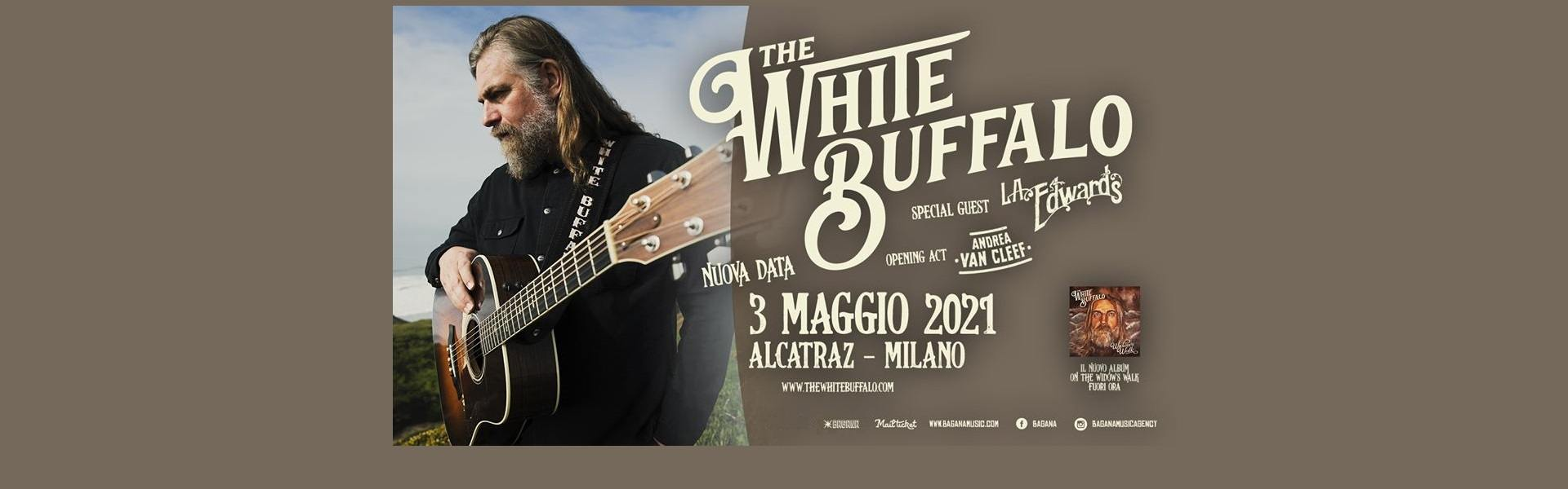 The White Buffalo Alcatraz Milano 03-05-2021 ticket Mailticket