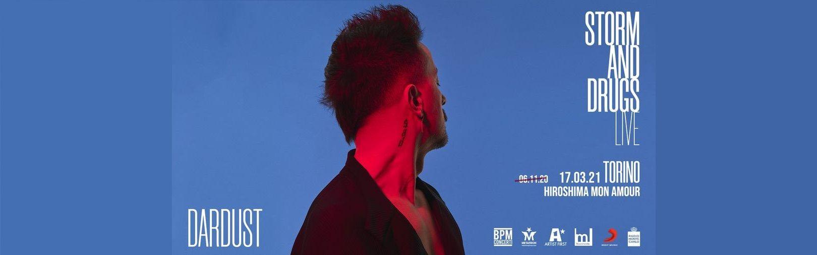 Dardust biglietti Concerto a Hiroshima Mon Amour Torino 17 marzo 2021 Mailticket